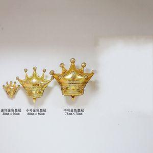 Корона Украшение Воздушный Шар Свадьба Празднование Дня Рождения Фестиваль Воздушные Шары ITH Золотой Цвет Горячий Продавать Новый Шаблон 2 7fe3 J1