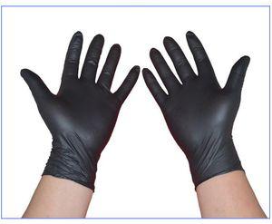 Einweg-Latex-Nitril-Handschuhe Antistatische Arbeitshandschuhe Haushaltsreinigung Waschmechaniker Arbeitslabor Nail Art versandkostenfrei 2019