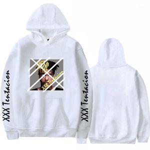 Толстовки с капюшоном повседневные свободные пуловеры толстовки с длинными рукавами топы XXXTentacion 19SS мужские