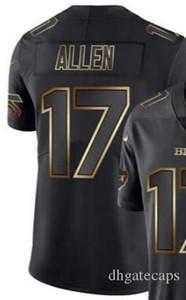 Vapor limitée Golden Black Jersey Hommes Buffalo 17 Chemises jersey Toutes les équipes maillots de football américain