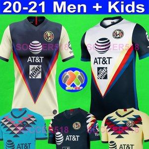 qualidade agradável 2020 2021 LIGA MX Clube América de Futebol UNAM Guadalajara de Chivas 2019 20 kits de uniformes do futebol camisetas Futebol jérseis