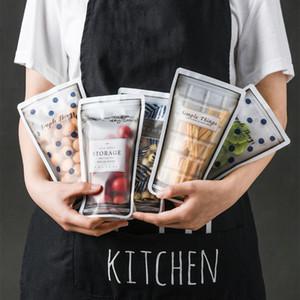 Snack Food vedação saco de armazenamento reutilizável Frigorífico fresco Storage Bag Fruit Meat Moisture-Proof Cozinha Organizador LX253