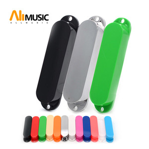 30pcs Electric Guitar ST Single Coil Pickup Sealed Cover Solid ABS Pickup Cover Multi Colour Available