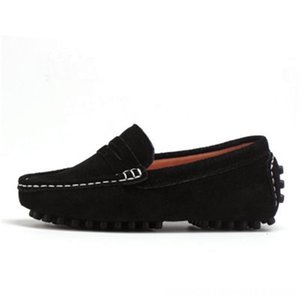 Size 27-39 Really skin Children Boy's Girl Baby Shoes Slip-on Loafers Flats Spring And Autumn Fashion Boys Sneakers for Big Kids Athletic &