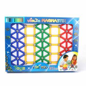 Magnétique constructeur Jouets Pour Enfants bâtiment Designer jouet rouge blanc classique en métal boules aimant Bars blocs de construction Modèles