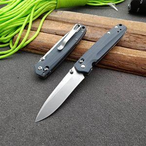 Benchmade 485 M390 cuchillo plegable táctico del cuchillo del cuchillo del EDC del bolsillo de la caza de la autodefensa de camping 110 112 espalda BM 940 530 535 781 3310