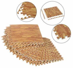 Soozier 72 agencias incluidos grano de madera piso de enclavamiento Mats espuma de EVA del GYM Puzzle Mat Azulejos