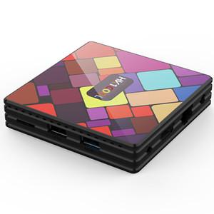HK1 بارد الروبوت 9.0 TV Box RK3318 2.4 جرام / 5 جرام المزدوج واي فاي 4 جيجابايت 64 جيجابايت 32 جيجابايت 4 كيلو تعيين مربع أعلى pk hk1 max