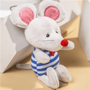 11.5CM New Arrival Super Cute Small mouse Plush Toys Adventure mouse Doll Birthday Christmas Gift Keychain pendant decoration