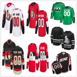 Custom Ottawa Senators #83 Christian Jaros 86 Christian Wolanin 41 Craig Anderson 19 Derick Brassard Men Women Kids Youth Hockey Jerseys