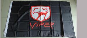 viper flag for car show, viper car banner,90X150CM size,100% polyster