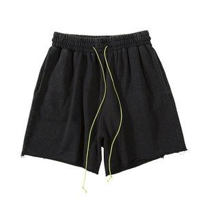 Mens del verano Desigenr pantalón corto para hombre flojo Outdoor Running entrenamiento de baloncesto pantalones de contraste Streamer Los cortocircuitos ocasionales