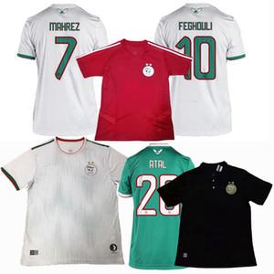 최고 2 별 2,019 2,020 알제리 축구 유니폼 SLIMANI BOUNEDJAH BELAILI FEGHOULI 메바 훈련 (19) (20) 축구 폴로 셔츠