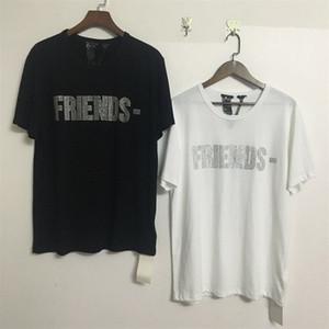 19ss Büyük V Arkadaşlar-Olacak V Sıcak Sondaj T-shirt Miami Yüksek Sokak Ajitasyon Pamuk Tee Hip-Hop Rap Erkekler Ve Kadınlar Tasarımcı T-shirt Hfwptx269
