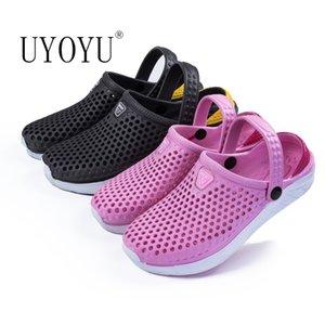 2020 Chaussures D'Été Femme Dames Plage Femmes Plat Sandales En Caoutchouc Femelle Eva Sandalias Unisexe Trou Chaussures Chaussures Sandle