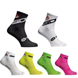 Compétition professionnelle vélo Chaussettes Hommes Femmes Pro Cycling Socks Marque Racing VTT Cross Country VTT