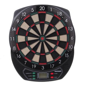 Winmax elctronic Dartboard Scoring board Set LED Display 6 darts Electronic Dart Board Display 21 Games Soft tipDarts