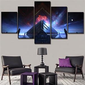 Kader Video Oyunu, 5 adet HD Kanvas Baskı Yeni Ev Dekorasyon Sanat Resim / (Çerçevesiz / Çerçeveli)
