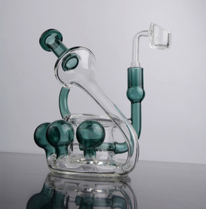 5.5 inchs Beaker Bong Water Pipes Glass water Bongs Smoking Pipes Dab Accessories Cigarette Hookahs With 14mm Banger Oil