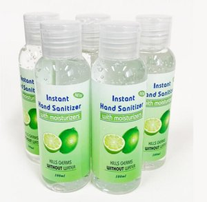 In Stock! Hand Sanitizer 100ML Disposable Gel Hand Sanitizer with Fragrance Portable Instant Wash Free Hand Soaps GGA3271