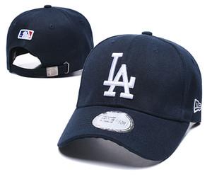 Il nuovo modo LA Royal Blue cappello piatto regolabile Brim Embroiered logo ventilatori cappelli da baseball dimensioni LA sul campo regolabile