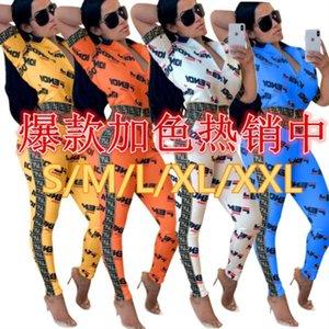 Bayan kısa kollu eşofman ceket pantolon spor hoodie legging iki parçalı set eşofman giyim tayt kıyafetler eşofman 0546