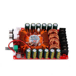Цифровой усилитель Freeshipping High Power Board 160W + 160W Audio Dual Channel Stereo совета Модуль усилителя мощности TDA7498E