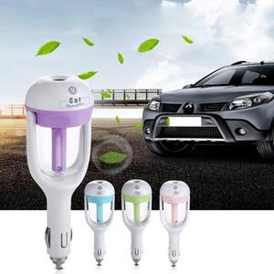 12V Araç Hava Temizleme Buharlı Nemlendirici Aroma Diffuser Hava Esansiyel Yağ Araba Fresher spreyi aksesuarı