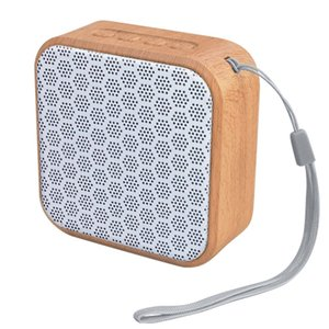20pcs Wood Grain Wireless Bluetooth V4.2 Portable Sports Speaker Hands-Free Calling TF Card Playback FM Radio Audio Input A70 FOR Iphone