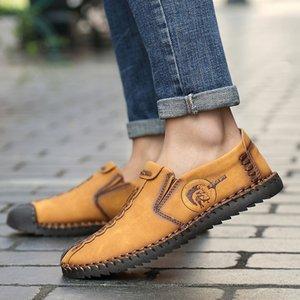 LettBao Erkekler Elbise Ayakkabı 2018 Erkek Bölünmüş Deri Oxford ayakkabı Zapatillas Erkekler Flats Artı 48 Beden Elbise Deri