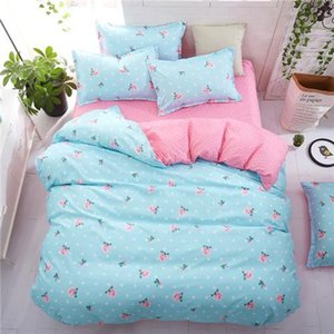 Bed Kid Plant Tropical Cover Set couette adulte Draps de lit enfant et taies Consolateur Literie