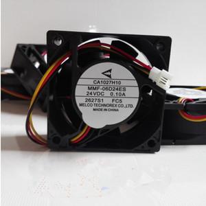 미쓰비시 인버터 E540-2.2K 3.7K 5.5K 팬 MMF-06D24ES-FC5 CA1027H10 24VDC 0.10A 60 * 60 * 25MM 3 행 3 핀 전용
