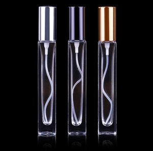 2020 new 10ml Empty Refillable Bottles Portable Perfume Bottle Traveler Glass Spray Atomizer Transparent Container