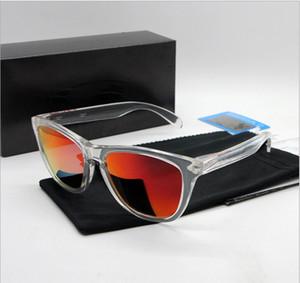 Großhandel-Sonnenbrille New Sonnenbrille TR90 Frame Polarized Lens UV400 Frogskin Sport Sonnenbrille Fashion Trend Brillen