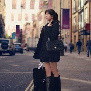 Nuevo Slim Short Wool Blend Ladies Coat Chaqueta con capucha de un solo pecho para mujer Chaqueta de algodón sólido coreano para mujer