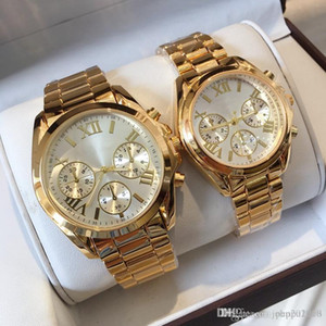 2019 New Top Top High Quality Women Reloj de lujo Reloj casual Big Dial Man Wristwatches Amantes Relojes Lady Classic Table Drop Shipping