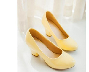 Free send 2018 spring and autumn new style fashion round head Women's Shoes