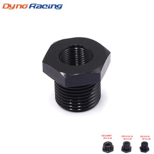 Aluminum Car Oil Filter Threaded Adapter Size 1 2-28 to 3 4-16 13 16-16 3 4 NPT Automotive Threaded Screw Adapter