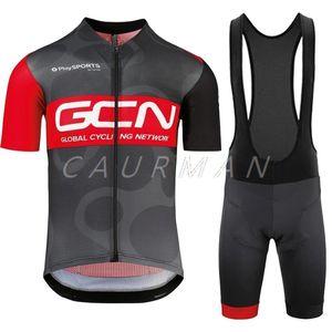 GCN Ciclismo Traje 2020 camisas GTD equipo Accesorios de ciclismo manga corta Jersey conjunto de Verano partes de arriba chaqueta pantalones cortos babero Maillot kit de ropa