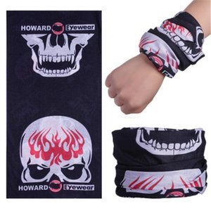 Outdoor Usa Flag Magic Headskull Scarf Bandana Cycling Masks Head Neck Scarves Windproof Sport Face Mask With Filter Designer Printed Mas#439