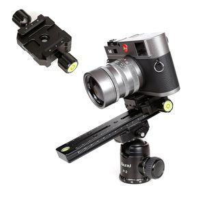 180 milímetros Nodal Deslize Rail Knob Tipo Longa placa de retenção Panorâmica Pan Tilt Multi-funcional tripé rápida Mount Camera Lens Bracket