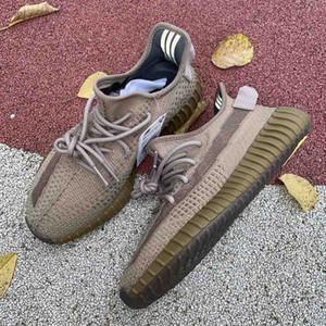 2020 luxe design de mode des femmes des hommes Kanye Zapatos à courir chaussures de sport pour les hommes plateforme étoile Sneaker blanc Desert Sage Sneaker