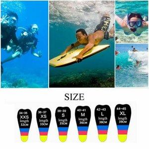 Kids Adult Adjustable Neoprene Diving Swimming Short Fins Anti-slip Snorkeling Surfing Swim Training Hydrofoil Diversion Flippers Equipment