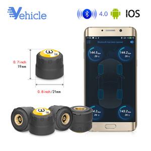 TPMS TPMS Bluetooth 4.0 Neumático de Control de Presión de Neumáticos BLE Control de Presión de Neumáticos Herramienta / Alarmante Sistema Android