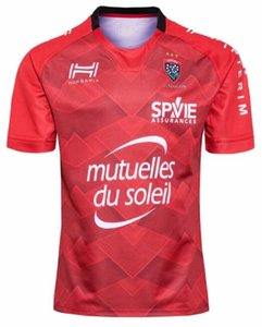 19 20 Top Thai Toulon calidad de rugby jerseys Camisa Camiseta Maillot remata el envío S-5XL Trikot Camisas .Fast.