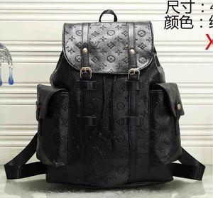 Горячие продажи мужские и женские большие дорожные рюкзаки мужские плечи портативный рюкзак кожаный большой мешок для хранения Бесплатная доставка