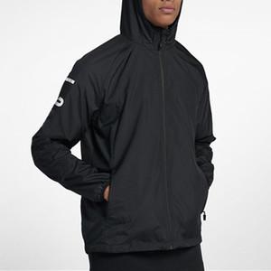 Mens Designer Vestes Marque Sports Windbreaker Lettre Imprimer Manteau À Glissière Casual En Gros Survêtement Active Running Jacket JN52019 EAR1992