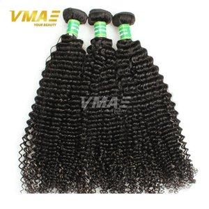 VM Good Hair qualità di trama brasiliano non trattato riccio crespo dei capelli umani tesse 3 pacchi Weave più venduti