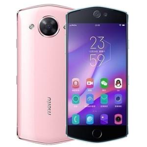 Оригинал MeiTu m8s 4G LTE сотовый телефон 4 ГБ ОЗУ 64 ГБ ПЗУ MT6797X Дека Ядро Android 5.2 дюйма 21.0MP 3100mAh отпечатков пальцев ID Смарт Мобильный телефон