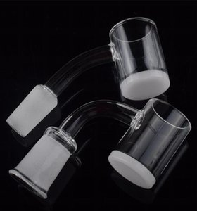 DHL Ship! 4mm Opaque Bottom Gavel Flat Top Quartz Banger XL XXL 10mm 14mm 18mm male quartz nail For mini glass rigs